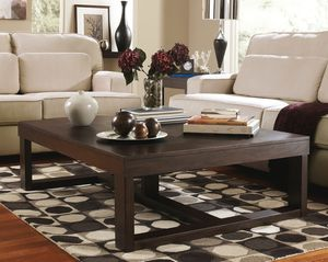 Ashley Furniture Brown Square End Table for Sale in Fountain Valley, CA