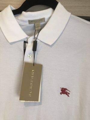 Burberry white polo for Sale in San Diego, CA