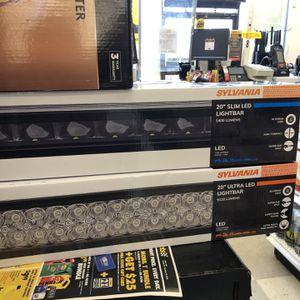 "Two 20"" Led Light Bars And 1200 Watt Inverter for Sale in Gaithersburg, MD"