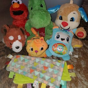 educational stuffed animal lot for Sale in Everett, WA
