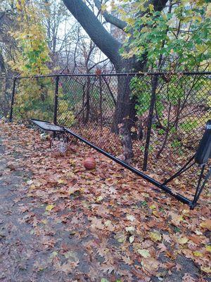 Free Two basketball hoops. Meriden. for Sale in Meriden, CT