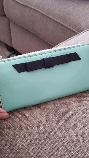 Mint Green Patent KATE SPADE wallet for Sale in Allen Park, MI