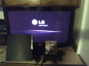 PS3 BUNDLE W TV for Sale in Seattle, WA