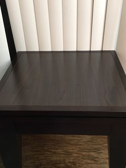 Espresso Dark Brown Side Table Or Coffee Table for Sale in Beaverton,  OR