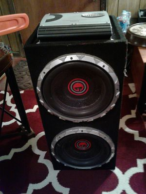 Amp and sub woofers for Sale in Hampton, VA