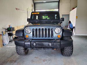 2007 jeep wrangler 4x4 limited for Sale in Pompano Beach, FL