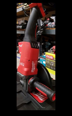 "MILWAUKEE M18 FUEL BRUSHLESS 7""IN ANGLE GRINDER BRAND NEW TOOL ONLY SOLO LA HERRAMIETA SIN BATERIA SIN CARGADOR NUEVO for Sale in Colton, CA"