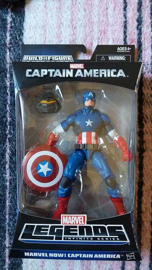 Marvel Legends Infinite Series: MARVEL NOW! CAPTAIN AMERICA for Sale in Downey, CA