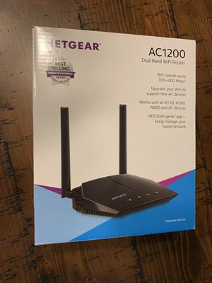 Netgear AC1200 DualBand Wireless Router for Sale in Fort Mitchell, AL