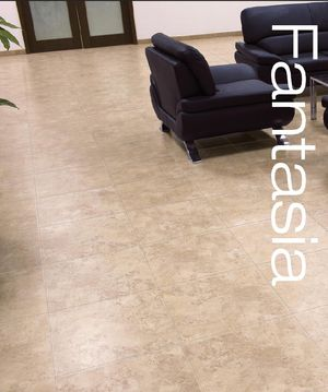 """50 - Boxes of porcelain tile Fantasia almond rectified tile 20"""" x 20"""" for Sale in Kenner, LA"""