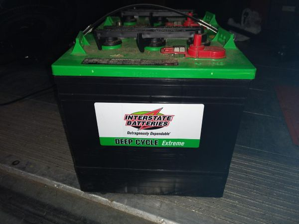 70 each Interstate Deep Cycle GC2-XHD-UTL Extreme Battery for Sale in  Longview, WA - OfferUp