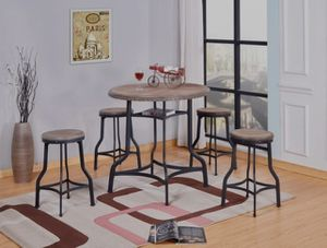 👉 ♥️$39 down payment🎈- 🍬 Spica 5-Piece Counter Height Set | 3480 for Sale in Laurel, MD