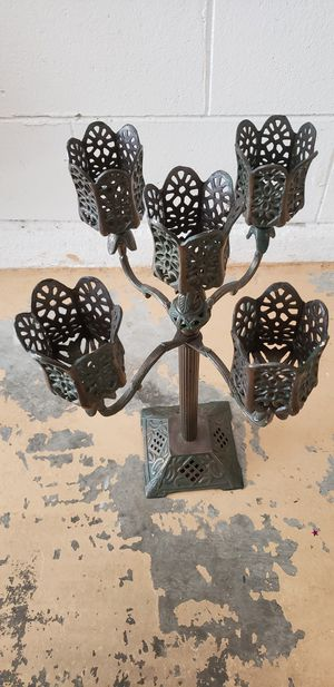 Antique - Iron candelabra for Sale in Kissimmee, FL