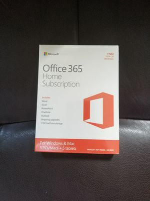 Merry Christmas - Office 365 for 5 users for Sale in Lexington, KY