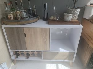 Buffet and wine rack (assembled) for Sale in Alexandria, VA