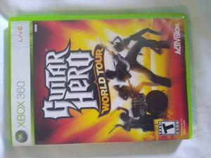 Guitar Hero World Tour game Xbox 360 for Sale in Bonney Lake, WA