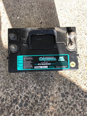 Deep cycle battery $40 for Sale in Vancouver, WA