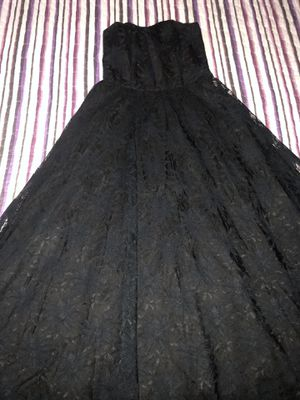 Black Strapless Laced Dress for Sale in San Antonio, TX