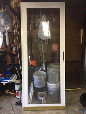 Glass storm door for Sale in St. Louis, MO