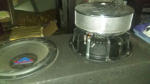Audiofonics Adf 292 competition subwoofers for Sale in Whittier, CA