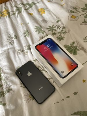 AT&T Space Gray iPhone X (64 gb) for Sale in Chula Vista, CA