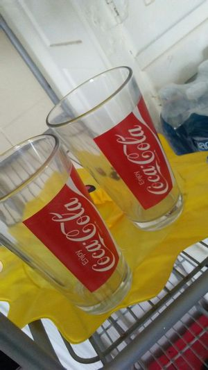 Vintage Coca-Cola glasses for Sale in Gilroy, CA