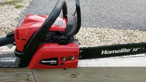 """Homelite 16"""" chainsaw for Sale in Lowell, MA"""