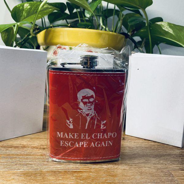 Make El Chapo Escape Again Flasks