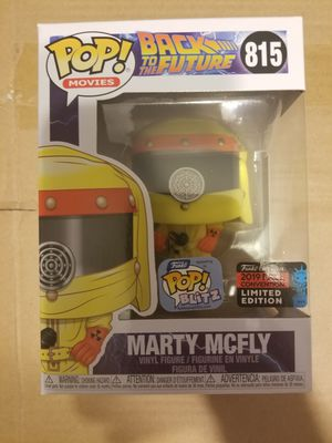 Marty mcfly funko pop NYCC 2019 for Sale in San Diego, CA