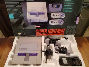 Super nintendo with 31 games and a genie for Sale in Fresno, CA