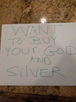 Want to buy your gold and silver for Sale in La Grange Park, IL