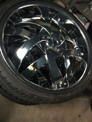 "NO TRADES NO LOWBALLERS 22"" INCH RIMS , 5 LUGGED, $800 for Sale in Columbus, OH"