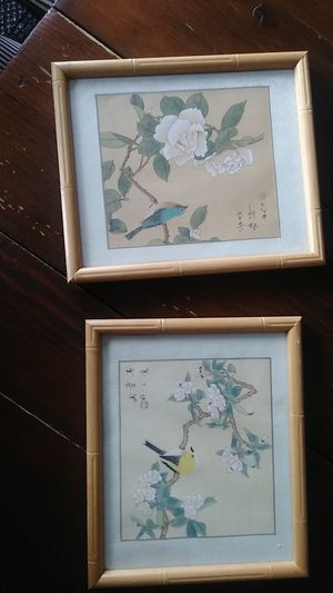 Two Asian pictures 30 for Sale in Drexel Hill, PA