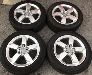 """19"""" Audi Q5 Sport S-Line Limited Factory OEM Wheels Rims Tires 19 inch for Sale in Chicago, IL"""