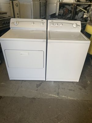Set washer and dryer brand kenmor electric dryer everything is good working condition 90 days warranty delivery and installation for Sale in San Leandro, CA