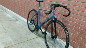 Pure racing bike W/ thick slick tires check pics for specs for Sale in Ashford, WA