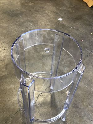 Clear plastic bar stools for Sale in Azusa, CA