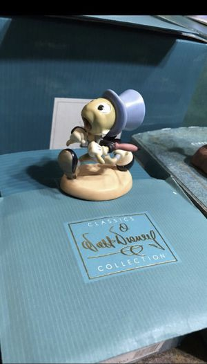 "WDCC Jiminy Cricket ""Wait for Me, Pinoke!"" Disney Figurine for Sale in Fort Worth, TX"