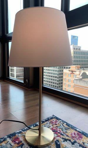 Table gold lamp for Sale in Arlington, VA