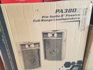 2 Pro audio speakers for Sale in Fontana, CA