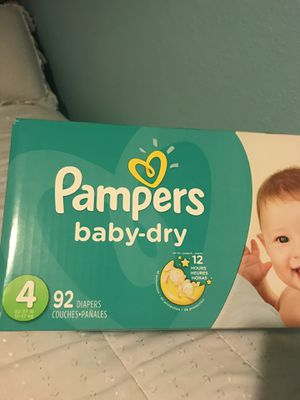 Pampers size 4 for Sale in Dallas, TX