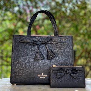Kate Spade SM Hayes Leather Satchel Crossbody Bag / Wallet Set / brand new purse for Sale in Lemon Grove, CA