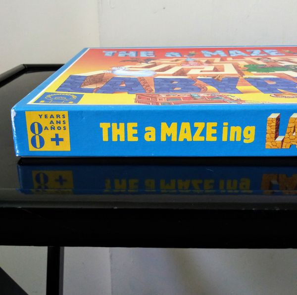 THE A-MAZE-ING LABYRINTH GAME