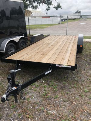 Car hauler 7x18TA Triple crown @ Brothers trailer for Sale in Tampa, FL