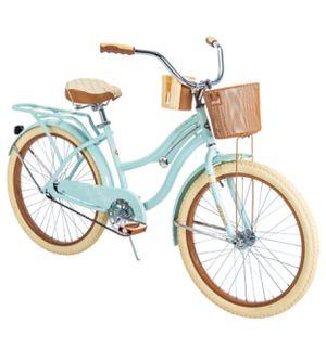 "Huffy 24"" Nel Lusso Girls' Cruiser Bike, Mint Green for Sale in Henderson, NV"