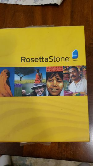Rosetta Stone Spanish for Sale in Waymart, PA