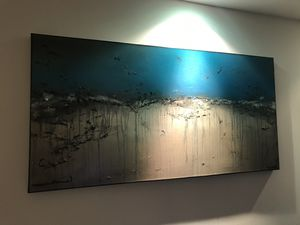 """Limited edition canvas painting. 48""""x24"""" for Sale in New York, NY"""