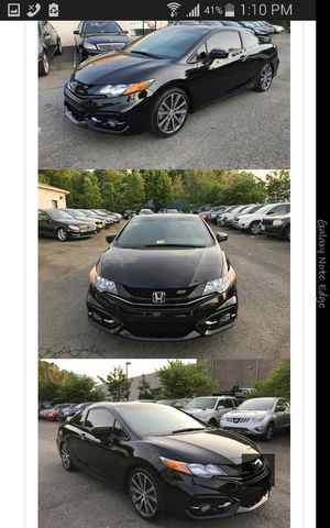 2015 Honda Civic si coupe, clean title for Sale in Manassas, VA