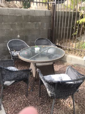 Table and chair for Sale in Lake Elsinore, CA
