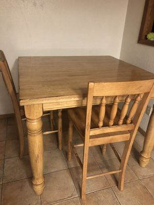 Dining table w/6chairs,leaf for Sale in Salida, CA